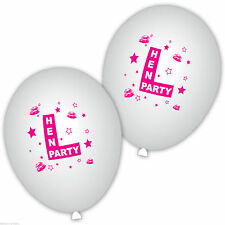 Hen Night Round 10-50 Party Balloons