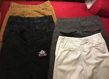 5 pair boy/teen summer shorts, sz 16, ENYCE, Wrangler, Lrg, Faded Glory, Waimea