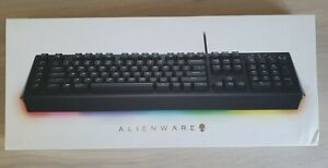 Dell Alienware Advanced Gaming Mechanical RGB Keyboard AW568 - 0TCK67 NEW UNUSED