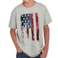 USA United States of America Flag Patriotic Youth T-Shirt Tees Tshirt For Kids