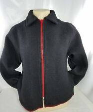 Indigenous Designs Womens Full Zip Up Jacket Coat 90% Wool size Small/Medium