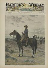 "1889  ""The Specfial Correspondent""  Harper's Weekly. Rufus Zogbaum"