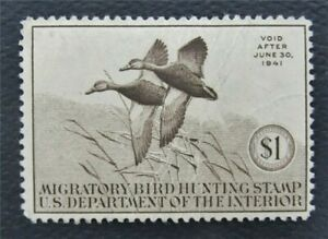 nystamps US Duck Stamp # RW7 MOG       O15y618