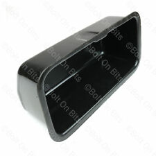 Wood/Alloy Dashboard glovebox liner Classic Mini BLACK