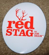 RED STAG Jim Beam Bourbon STICKER decal craft beer brewing brewery