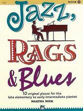 JAZZ, RAGS & BLUES BOOK 1 - PIANO COLLECTION BOOK 6642