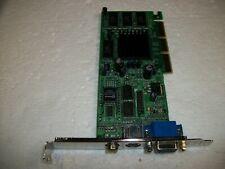 VGA S-Video Composite ATI Radeon 7000 64MB AGP 4x/8x Graphics Video Card
