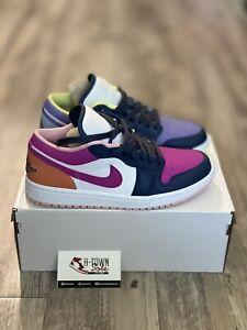 Size 6.5 & 8.5 - Jordan 1 Low Purple Magenta (W) - Free Shipping
