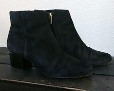 Sam Edelman Edith Black Suede Ankle Bootie Boot 10M