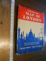 LIBRO: MAPPA CENTRALE LONDRA MAPS OF LONDON VINTAGE