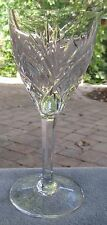 St. Louis Crystal Saint Louis Chantilly Water Goblet France  As Is Discounted