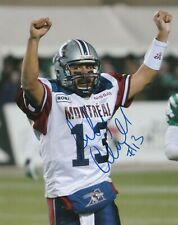 ANTHONY CALVILLO SIGNED MONTREAL ALOUETTES 8X10 PHOTO  # 4