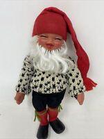 Vtg Arne Hasle Gnome Doll Norwegian Norge Elf Troll Christmas Beard