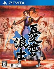 Used PlayStation PS Vita Ukiyo No Roushi Japan Import Free Shipping