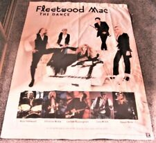 "Fleetwood Mac Promotional Banner ""The Dance"" 1997 Canvas Cloth Poster Original"