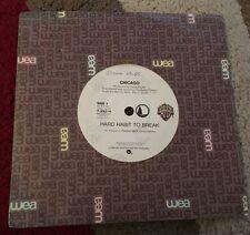 Chicago - Hard Habit To Break & Remember The Feeling 7' Vinyl Single Record