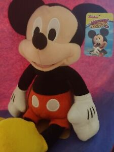 """Disney Junior Mickey Mouse 10"""" Plush Mickey and the Roadster Racers B2"""