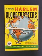 1963 Harlem Globetrotters Basketball Yearbook Vintage Basketball Abe Saperstein