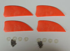4 pieces of 2 inch fins of kiteboard kitesurfing kiteboarding flysurfing