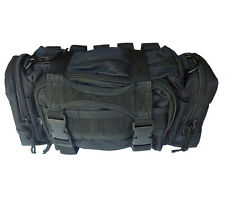 Rapid Response Trauma First Aid Pack Black Molle Pouch Elite First Aid Fa143