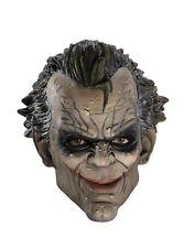 Accesorio Disfraz De Guasón, para Hombre Batman Joker Arkham City 3/4 Máscara