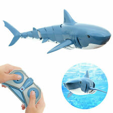 Kids Toy 2.4G Remote Control Simulation Electric Shark RC Submarine Prank Toy