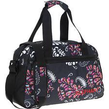 22bb11c96ee73 Sporttasche Damen Floral Elephant M 40 Cm Sport Tasche Reisetasche 3772  schwarz