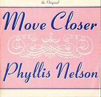"""PHYLLIS NELSON move closer/take me nowhere CART 337 uk carrere 1989 12"""" PS VG/EX"""