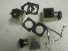 DUPLOMATIC CLEAR DIN PLUG ECA/N/10 (LOT OF 20PCS)