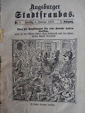 Augsburger Stadtfraubas – Illustriert - 1878