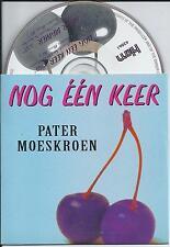 PATER MOESKROEN - nog een keer CD SINGLE 2TR 1997 CARDSLEEVE HOLLAND