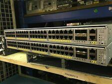 Cisco WS-C4948E-S w/ Dual AC 4948E, 4 x SFP+ ports IP Base Image 10Gig Switch