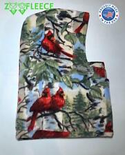 ZooFleece Cardinal Headgear Balaclava Ski Mask Cardinals Bird Red Hood Face Hat