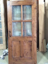 "36"" x 80"" Shaker Craftsman 4 Lite Entry Door"