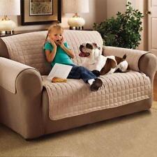 Housses de canapé, fauteuil, et salon beige en polyester pour la maison