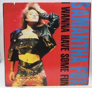 Samantha Fox - I Wanna Have Some Fun - Jive Records  1988