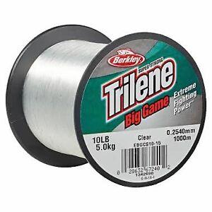 Berkley Trilene Big Game Monofilament Line 4 Color Choices 1/4 Pound FREE Ship