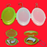 Plastic Hearing Aid Case Storage Bag Box for Hearing Aids EarbudQA