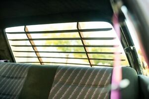 BMW E30 CAtuned Interior Sun Blinds louver Wood - Non Stained