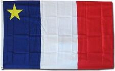 Quality 3'x5' ACADIAN FLAG of ACADIA, Canada Canadian