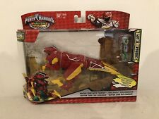 POWER RANGERS DINO SUPER CHARGE RAPTOR ZORD ACTION FIGURE WITH CHARGER Oc64 New