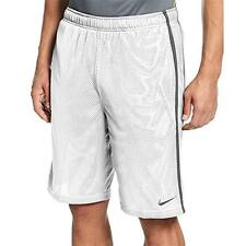 """Mens Nike """"Monster Mesh"""" Athletic Shorts -White -524391 100 -Sz 3XL -NWT"""