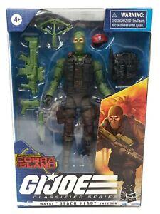 Hasbro G.I. JOE Classified Series #10 Wayne Beach Head Sneeden 6 Inch Figure