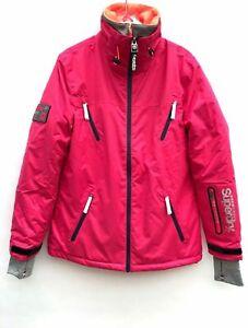 Superdry Womens Alpine Pink Ski Jacket Size Small