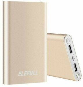 Power Bank 10000mAh Portable Charger for Mobile Phone External Battery Case Pad