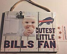 Buffalo Bills Picture Frame Cutest little Bills Fan BRAND NEW GIFT IDEA