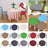 US Round Garden Chair Cushion Pad ONLY Outdoor Stool Patio Dining Seat Pad JAP
