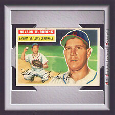 1956 Topps NELSON BURBRINK #27 NM Gray Back *amazing card for your set* SD1p