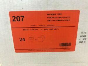 KAR207-112CS AUTO BODY ORANGE PAINT MASKING TAPE 1.41 IN/P X 60 YARDS 24 ROLLS