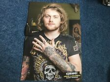 Danny Worsnop/Fearless Vampire Killers/Korn Double sided Centerfold Poster!